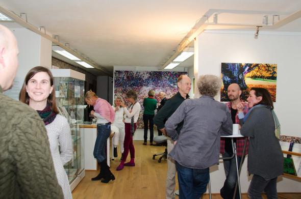 Atelierkonzert im Atelier Frank Fischer am 3. März 2017, Foto Gabi Frosch
